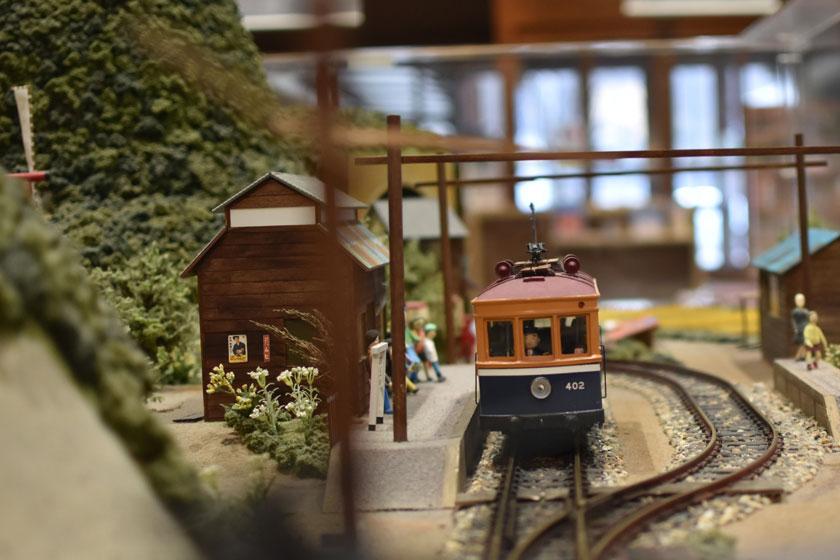 鉄道模型走行実演会