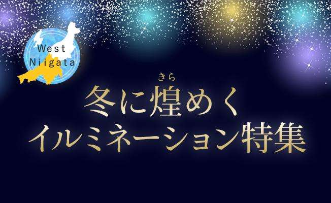 West Niigata 冬に煌めくイルミネーション特集