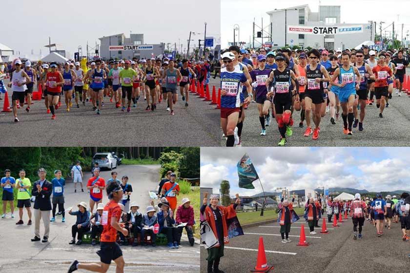 柏崎・潮風マラソン