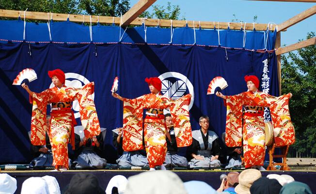 古より伝わる「綾子舞」の時を刻む「現地公開」